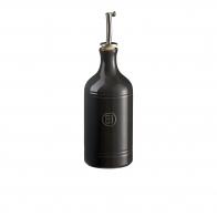 Butelka na oliwę 450 ml czarna - Emile Henry
