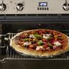 Gładki kamień do pizzy 37 cm czarny - Emile Henry