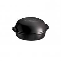 Naczynie do zapiekania sera 19 cm czarne - Emile Henry
