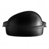 Duże naczynie do pieczenia 5 l czarne - Emile Henry