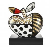 Figurka Golden Big Apple 40 cm - Romero Britto Goebel 66452721