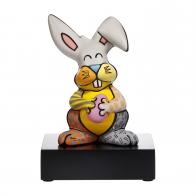 Figurka Grey Rabbit 23 cm - Romero Britto 66452891