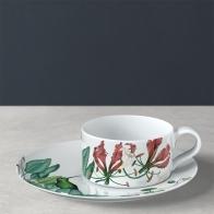 Filiżanka do herbaty 230 ml ze spodkiem biała - Avarua Villeroy & Boch 1046551260