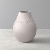 Wysoki wazon Perle 20 cm - Collier beżowy 1016865513