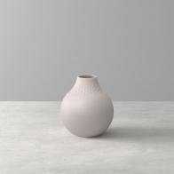 Mały wazon Perle 12 cm - Collier beżowy