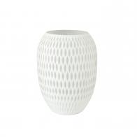 Wazon Carved biały 29 cm - 23121041