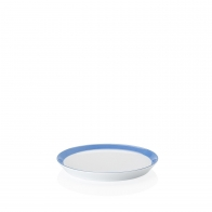 Talerz płaski 18 cm - Tric Blue
