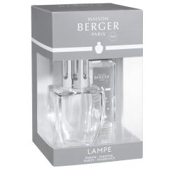 Zestaw June kryształowy, lampa + zapach - Maison Berger
