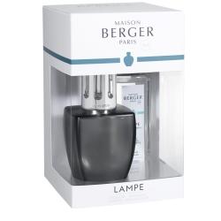 Zestaw June szary, lampa + zapach - Maison Berger