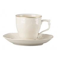 Rosenthal porcelana. Filiżanka do espresso ze spodkiem - Sanssouci Gold.