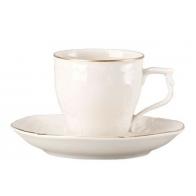 Rosenthal porcelana.Filiżanka do kawy ze spodkiem - Sanssouci Gold