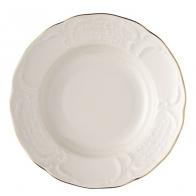 Rosenthal porcelana.Talerz obiadowy głęboki 23cm - Sanssouci Gold