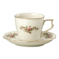 Rosenthal porcelana. Filiżanka do kawy ze spodkiem - Sanssouci Ramona