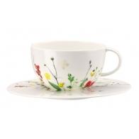 Filiżanka do herbaty ze spodkiem - Tajemniczy Ogród