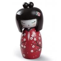 Figurka Kokeshi Czerwona lladro 01008709