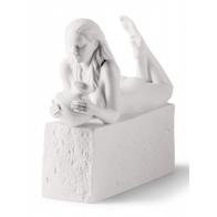 Znaki zodiaku - Wodnik - wersja kobieca, biała