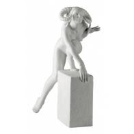 Znaki zodiaku - Baran - wersja kobieca, biała