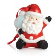 Figurka / ozdoba choinkowa - Mikołaj Holiday Greetings