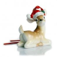 Figurka / ozdoba choinkowa - Renifer Holiday Greetings