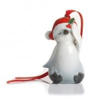 Figurka / ozdoba choinkowa - Pingwinek Holiday Greetings