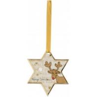 Ozdoba choinkowa - Gwiazdka Santas Reindeer