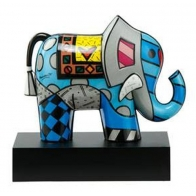 Figurka Słonia 20,5cm Great India 2 - Romero Britto
