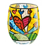Świecznik - tealight - A New Day - Romero Britto