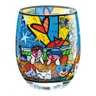 Świecznik - tealight - In the Park - Romero Britto