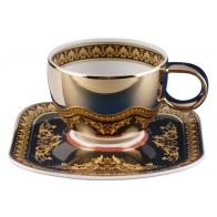 Filiżanka do espresso - Versace Medusa Złota