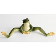 Figurka żaba siedząca - Amphibia Frog