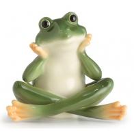 Figurka żaba zamyślona - Amphibia Frog