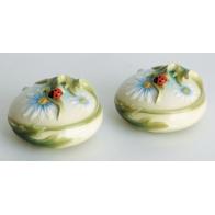 Zestaw solniczka i pieprzniczka - Ladybug