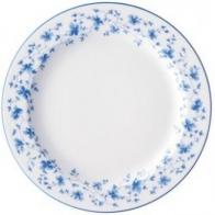 Talerz śniadaniowy 22cm - Blaublüten