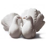 Figurka - Para gołębi