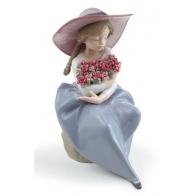 Figurka - Pachnący bukiet goździków