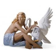 Figura - Leda i łąbędź