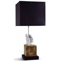Lampa z rzeźbą - Scientia