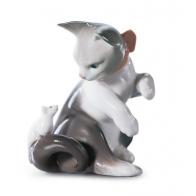 Figurka - Kot i mysz