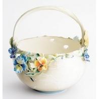 Koszyk porcelanowy - Rozkwitanie