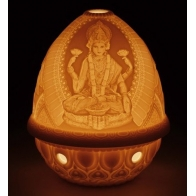 Lampion porcelanowy BOGINI LAKSHMI