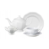 Zestaw do herbaty 6 osób Biała Maria [10430-800001-18202]