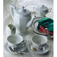 Zestaw do kawy 6 osób Biała Maria [10430-800001-18201]