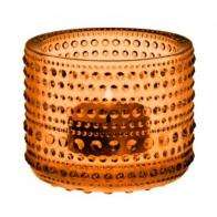 Świecznik - tealight Kastehelmi, pomarańczowy