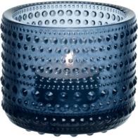 Świecznik - tealight Kastehelmi, ciemnoniebieski