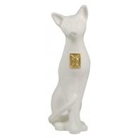 Kot zodiak - biały