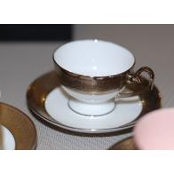 Filiżanka do espresso Prometeusz - Królewska platynowa