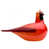 Figurka - Red Cardinal Kardynał czerwony - Birds by Toikka