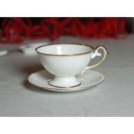 Filiżanka do espresso Prometeusz złoty pasek A.Spała