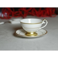 Filiżanka do herbaty Prometeusz złota stopka