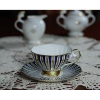 Filiżanka do herbaty ze spodkiem Lena